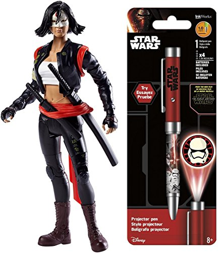 [Super Hero Multiverse Suicide Squad Katana Figure & Free Star Wars Projector Pen, Colors may vary] (Female Action Figure Costumes)