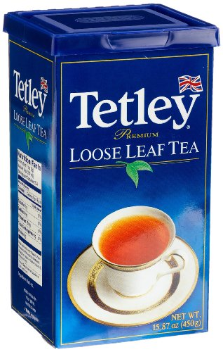 Tetley Loose Leaf Tea, 15.87-Ounce Boxes (Pack of 2) (Wholesale Loose Leaf Tea)