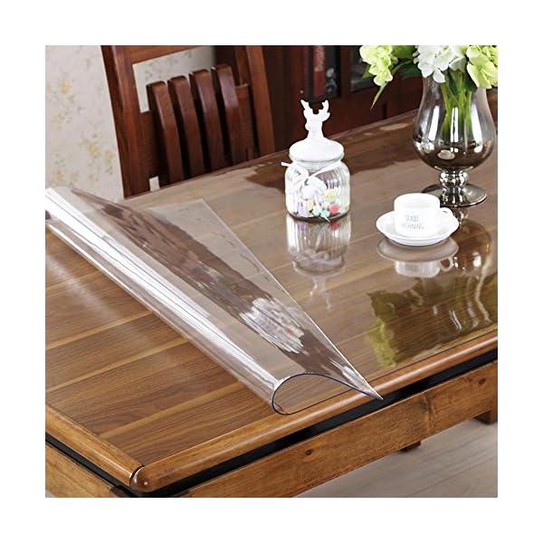 Ostepdecor Custom 1 5mm Thick Crystal Clear Pvc Table