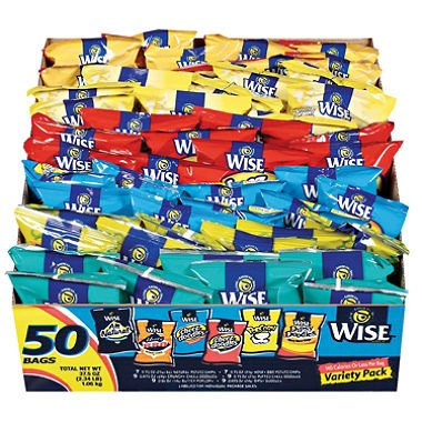 Wise Variety Pack (50 ct.) - 2 PACK