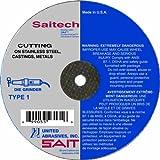 United Abrasives- SAIT 23152 Type 1 3 by .035 by 1/4 United Abrasives- SAITech Cutting Wheel, 100-Pack