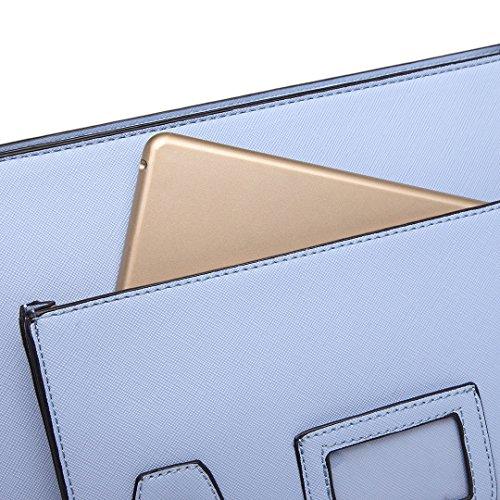 Miss Lulu - Bolso estilo cartera para mujer - L1116 TEAL
