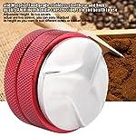 Tamper-di-Caff-Distributore-di-Caff-Acciaio-Inossidabile-Inteligente-Strumento-Livellatore-Base-da-58mm-con-3-Pendenze-ad-Angolo-Red