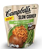 Campbell's Slow Cooker Sauces Buffalo Chicken 12oz pouch Pack of 4