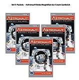 Astronaut Foods Neapolitan Ice Cream Sandwich Space Food (5 Packets)