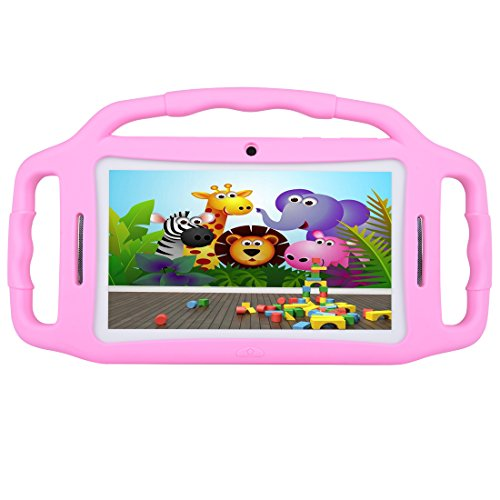 Kids Tablet Android 7.1, 7 Inch, HD Display, Quad Core, Children Tablet, 1GB RAM + 8GB ROM, with WIFI, Dual Camera, Bluetooth, Educational, Multi Touch Screen Kid Mode,With Kickstand … by BENEVE (Image #1)