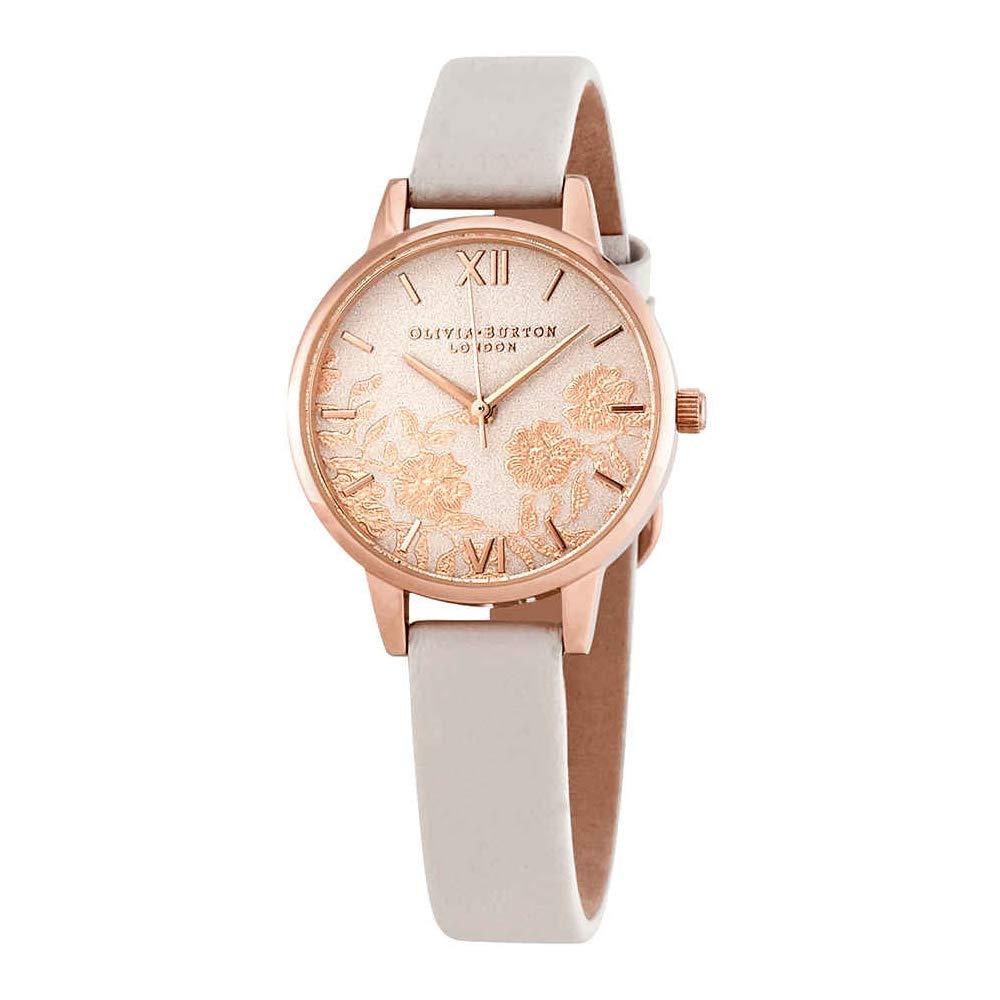 9cce7dd1f Amazon.com: Olivia Burton Womens Analogue Quartz Watch with Leather Strap  OB16MV69: Watches