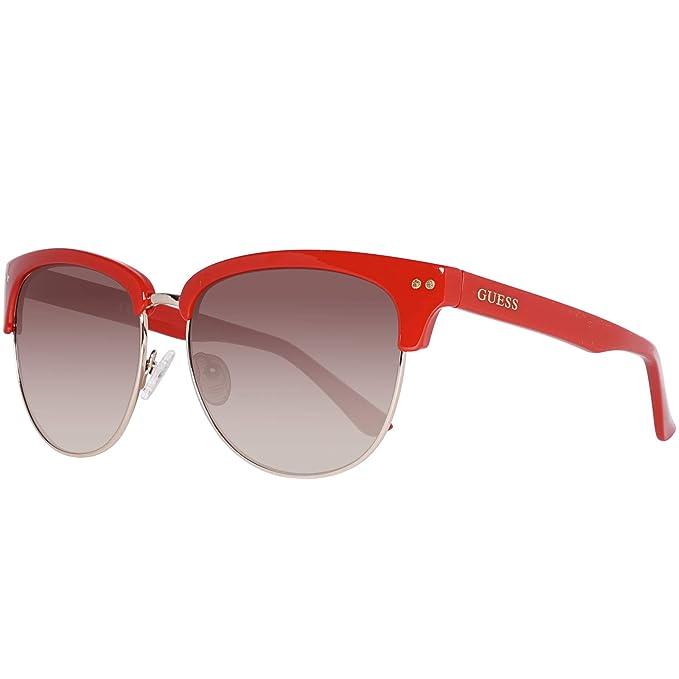 Guess GF0283-6066F Gafas de sol, Gold, 60 para Mujer: Amazon ...