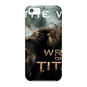 Slim Fit Tpu Protector Shock Absorbent Bumper Wrath Of The Titans Case For Iphone 5c
