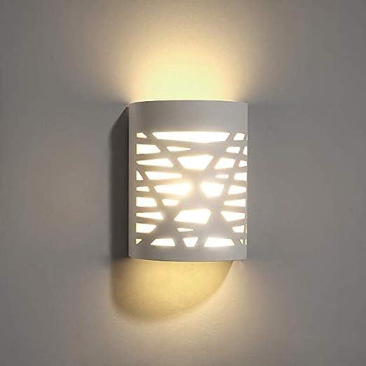 Lámpara de pared, flor de la abeja 9W 3000K blanco cálido aplique de la pared de