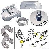 Tecnoseal Anode Kit w/Hardware - Mercury Alpha 1 Gen 2 - Zinc by Tecnoseal
