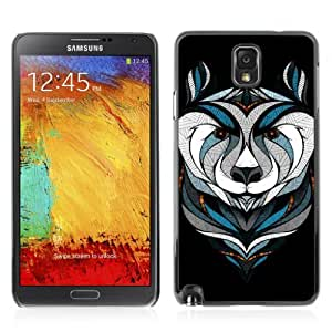 YOYOSHOP [Cool Bear Tattoo] Samsung Galaxy Note 3 Case