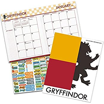 Harry Potter Monthly Planner 2019 Set - Deluxe Harry Potter Weekly Planner Bundle with DateWorks Calendar Stickers (8 x 11 Inch Large Format; Office ...