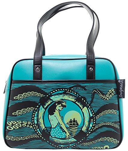 Sourpuss Tentacled Bowler Purse (Bowler Handbag Bag)