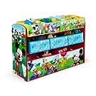 Delta Children Disney Mickey Mouse Deluxe Multi-Bin Toy Organizer