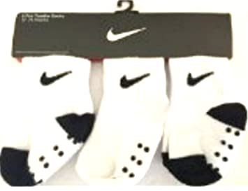 Nike Swoosh 3 par Magnigrip Infant/toddler calcetines (12 - 24 meses) Unisex: Amazon.es: Bebé