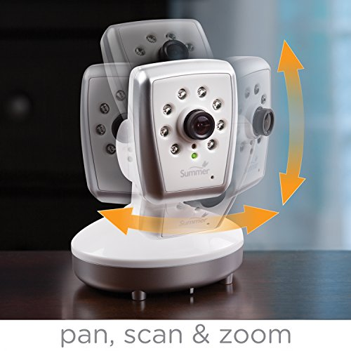 Summer Infant Side by Side Split-Screen Video Baby Monitor
