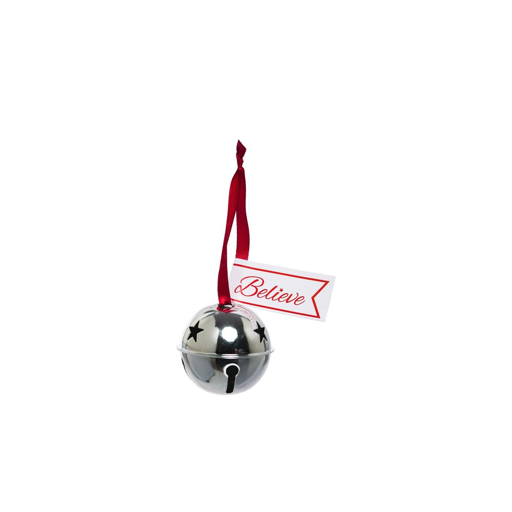 Cypress Home Believe Metal Bell Ornament Evergreen Enterprises Inc.