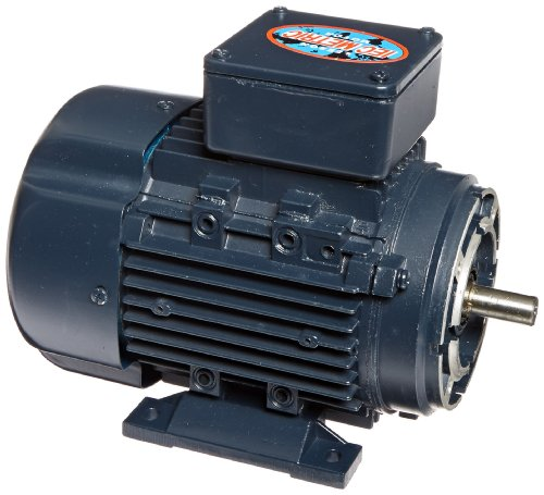 3 Phase Motor Voltage - Leeson 192047.00 Rigid Base IEC Metric Motor, 3 Phase, D71C Frame, B3/B14 Mounting, 3/4HP, 3600 RPM, 230/460V Voltage, 60Hz Fequency