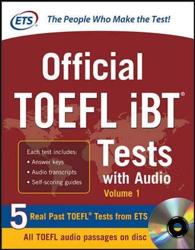 - Official TOEFL iBT Tests with Audio