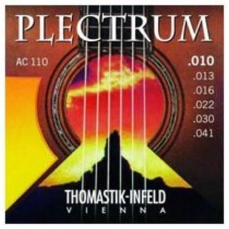 CUERDAS GUITARRA ACUSTICA - Thomastik (AC/110) Plectrum (Juego ...