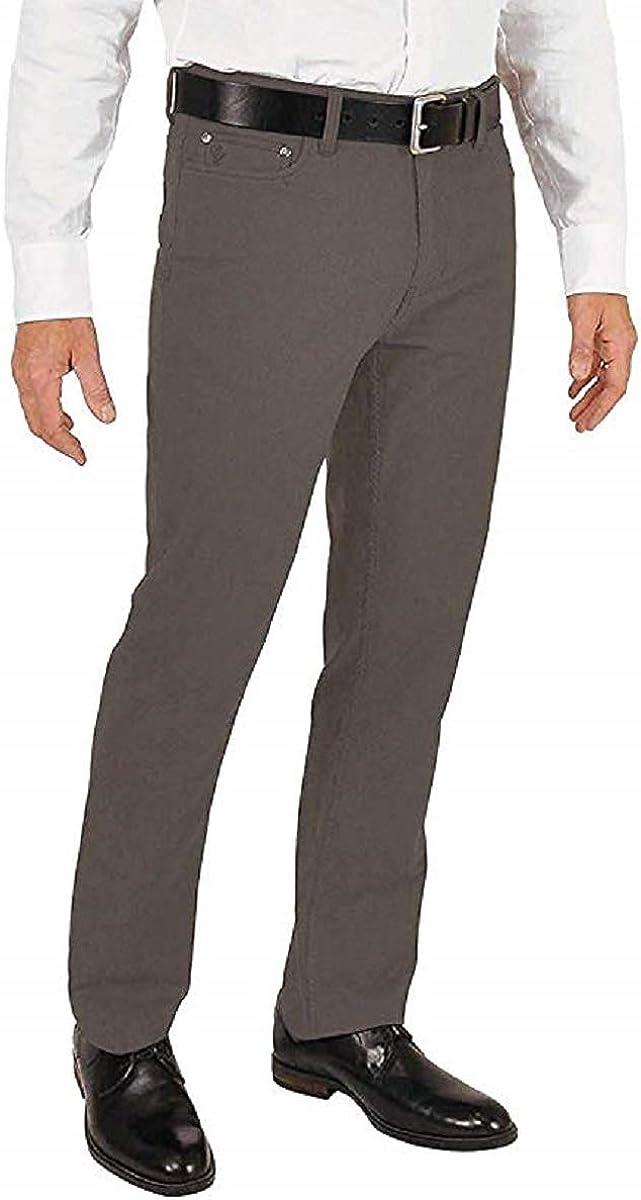 English Laundry Men's 5-Pocket Straight Leg Pant (34X30, Khaki)
