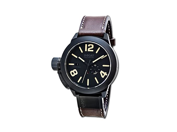 Reloj Automático U-Boat Classico, Cerámica, Negro, 48mm, 8107