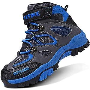 Scarpe da Escursionismo Stivali da Neve Scarpe da Trekking Unisex – Bambino 4 spesavip