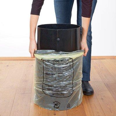 SackTonne, innovador soporte para bolsas amarillas con tapa ...