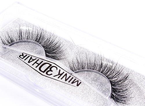 8789ac75254 3D Mink Eyelashes Makeup Dramatic False Eyelashes Natural Look Fluffy Long  Reusable Falsies Eyelashes 1 Pair
