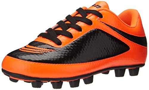 Vizari Infinity FG Soccer Cleat (Toddler/Little Kid/Big Kid), Orange/Black, 9 M US Toddler