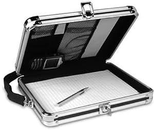 Vaultz Locking Storage Clipboard with Key Lock, 8 .5 x 11 Inches, Black (VZ01391)