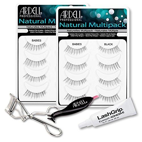 Ariel Ardell Fake Eyelashes Babies Value Pack - Natural M...