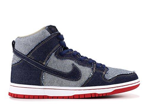 Nike Sb Dunk High Trs Qs Reese Forbes Denim - 881758-441 - Blu Notte, Blu Notte