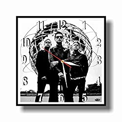 Art time production FBA Depeche Mode 11.8'' Handmade Unique Wall Clock - Get Unique décor for Home or Office - Best Gift Ideas for Kids, Friends, Parents