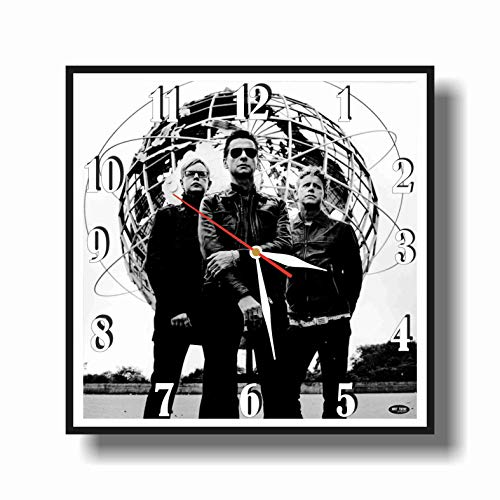 Art time production Depeche Mode 11.8'' Handmade Unique Wall Clock - Get Unique décor for Home or Office – Best Gift Ideas for Kids, Friends, Parents