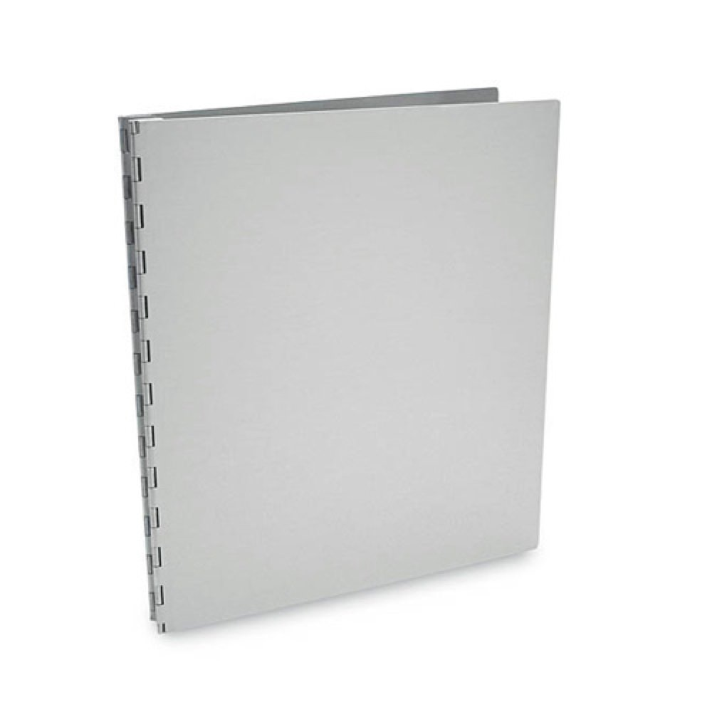 Pina Zangaro Machina 11' X 8.5' Screw Post Presentation Book With Aluminum Hinges, Satin Aluminum Finish LYSB000KNFUAW-ELECTRNCS PZMPB1185