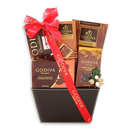 Godiva Dark Chocolate Lovers Basket