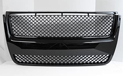 Front Mesh Sport Grille Grill Kit Black for 06-09 Ford Explorer XLT 07-09 Sport Trac