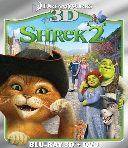Shrek 2 (Two-Disc Blu-ray 3D/DVD Combo)