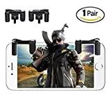 PUBG Mobile Game Controller[Upgraded Version],Lapulas Fire/Aim L1R1 Trigger Buttons for PUBG Mobile / Knives Out / Rules of Survial, Cell Phone Game Controller for Android IOS(1 Pair) Review