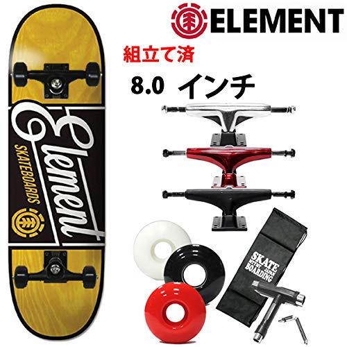 【即納!最大半額!】 ELEMENT(エレメント) スケボー コンプリート element エレメント ELEMENT BATE エレメント 8.0x32.06インチ element B07R4WHB9V 027-100 スケートボード 完成品 B07R4WHB9V ディープレッドトラック|ソフト56mmブラック ソフト56mmブラック ディープレッドトラック, ライターショップ SK:c097438b --- 4x4.lt