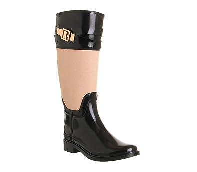 95bcf0e49 Ted Baker Berklean Welly Black Tan - 6 UK  Amazon.co.uk  Shoes   Bags
