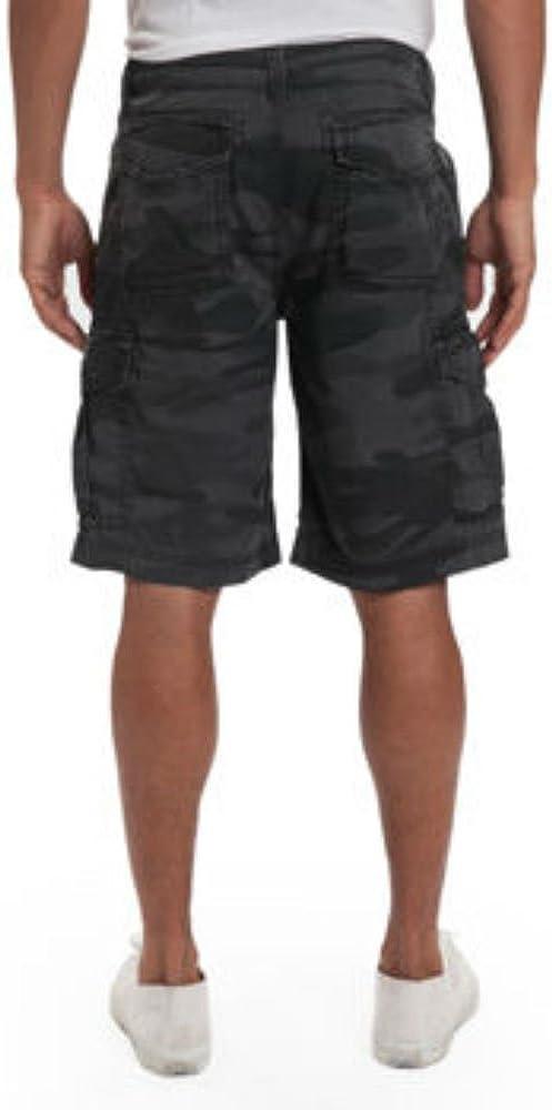 Cotton Twill Unionbay Men/'s Lightweight Six Pocket Detailing Cargo Short