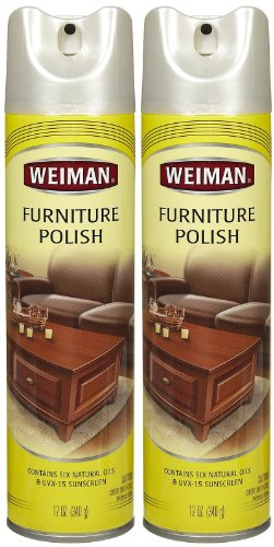 Weiman Furniture Polish Lemon Oil