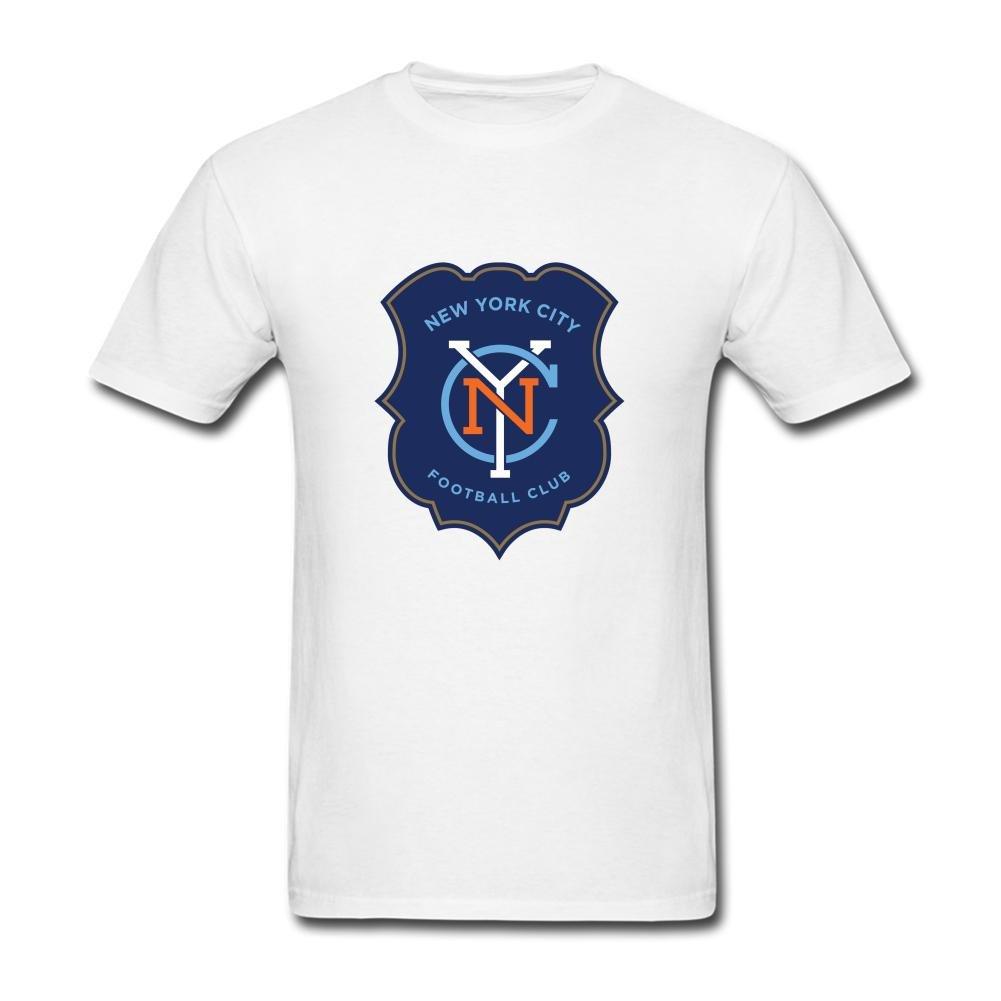 big sale c7eb4 ceb99 USTJC Men s New York City Football Club T Shirt M Apparel
