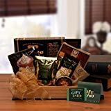 Gourmet Gift Book Lovers Gift Basket w/ $25 Barnes & Noble Gift Card All Occasion Gift