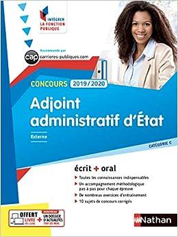 098d06ce909 Amazon.fr - Adjoint administratif d État - Ecrit + Oral - Catégorie C - Concours  2019 2020 - Stéphane Gachet