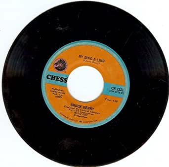 Chuck Berry My Ding A Ling B W Johnny B Goode 45 Rpm