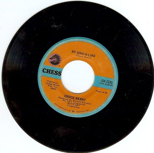 My Ding-A-Ling b/w Johnny B. Goode, 45 RPM Single for sale  Delivered anywhere in USA